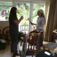 Teaching in the studio workshop